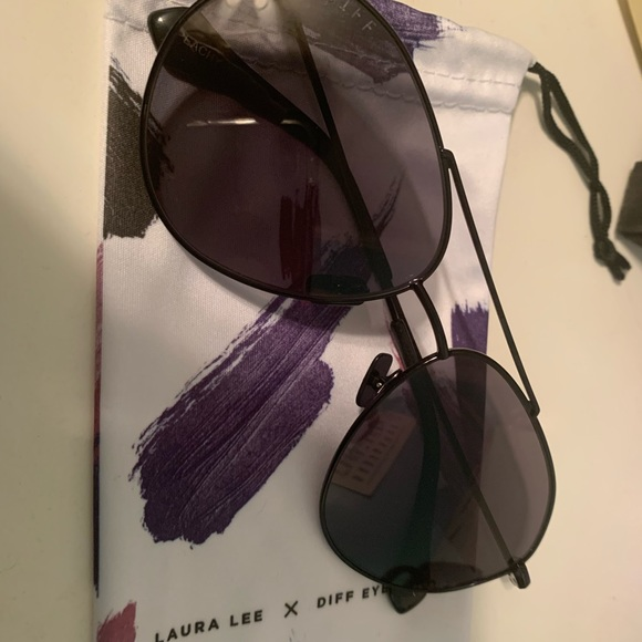 Diff Eyewear Accessories - Laura Lee x Diff Eyewear sunglasses